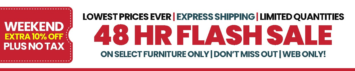 Weekend Furniture Flash Sale