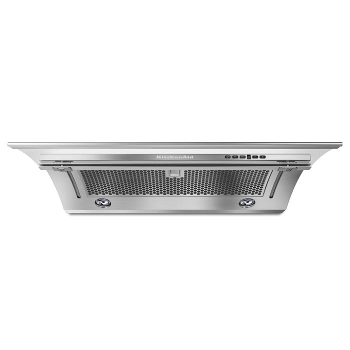 KitchenAid Range Hood 36-inch Slide-Out 400 CFM in Stainless Steel KXU2836YSS