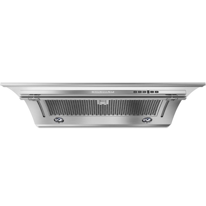 KitchenAid Range Hood 30-inch Slide-Out 400 CFM in Stainless Steel KXU2830YSS