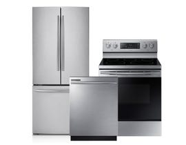 Samsung 3-Pc Appliance Package in Stainless 078184/105316/105314