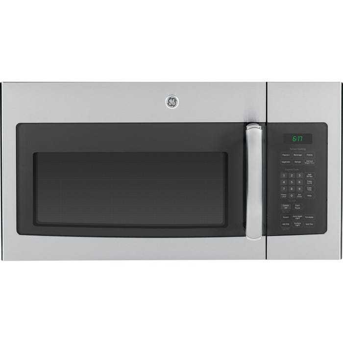GE 30 inch 1.6 cu.ft. Over-the-Range Microwave Oven in stainless JVM1635SFC