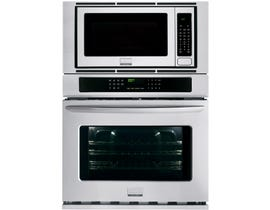Frigidaire Gallery 30 inch 6.6 cu.ft. Electric Wall Oven and Microwave Combination in stainless steel FGMC3065PF