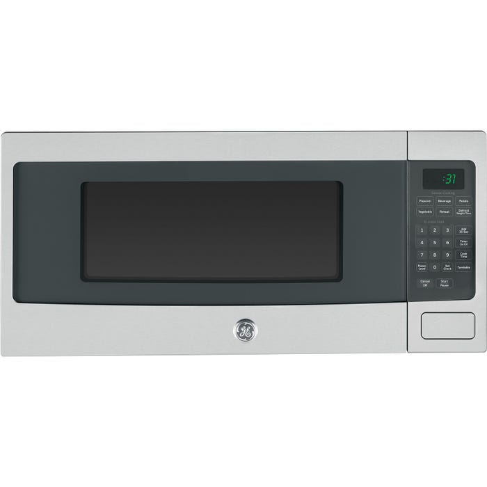 GE Profile 24 inch 1.1 Cu. Ft. Spacemaker counter top/built-in Microwave Oven in stainless PEM10SFC