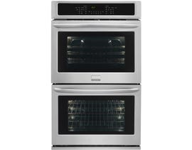 Frigidaire Gallery 30 inch 9.2 cu.ft. Double Electric Wall Oven in stainless steel FGET3065PF
