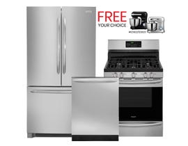 Frigidaire Gallery 3pc Appliances Packages in Stainless 108649/112256/89137