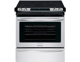 Frigidaire Gallery 30 inch 4.6cu.ft. Slide-in Electric Range in stainless steel CGES3065PF