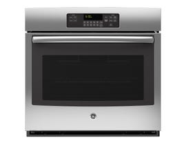 GE 30 inch 5.0 cu.ft. single Electric Wall Oven with Self Cleaning in Stainless Steel JCT3000SFSS