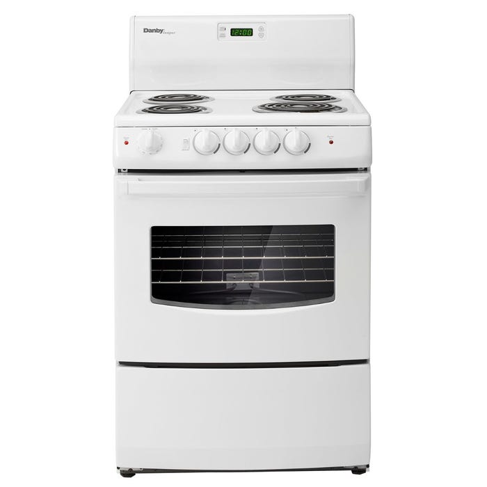 Danby 24-inch Coil Top Range in White DER241WC