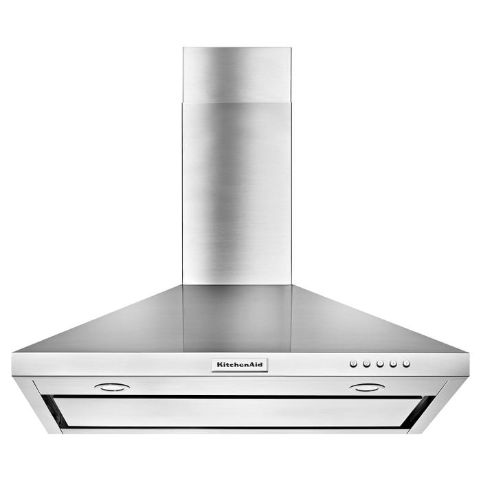 KitchenAid 30-inch Convertible Canopy Range Hood Wall Mount 3-Speed in stainless steel  KVWB400DSS