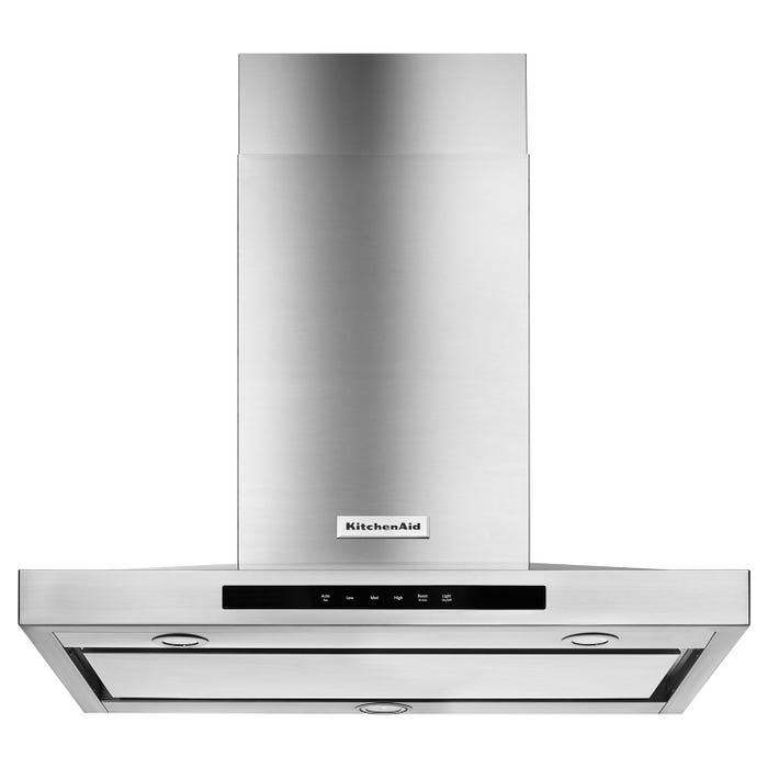KitchenAid 30-inch Wall Mount Canopy Range Hood in Stainless Steel KVWB600DSS
