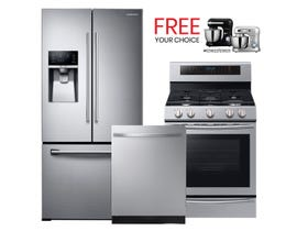 Samsung 3pc Appliances Package in Stainless 94098/108305/121754