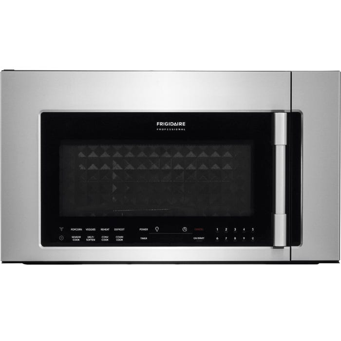 Frigidaire Professional 30 inch 1.8 cu.ft. 2 in 1 Over-The-Range Convection Microwave in stainless steel CPBM3077RF