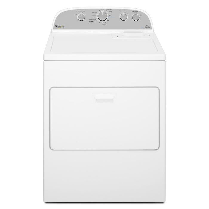 Whirlpool  7.0 cu.ft. HE Gas Dryer with Steam Refresh Cycle in white WGD49STBW