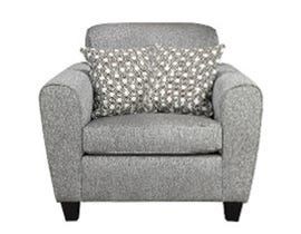 A-Class Fabric Chair in Stone Grey 6500