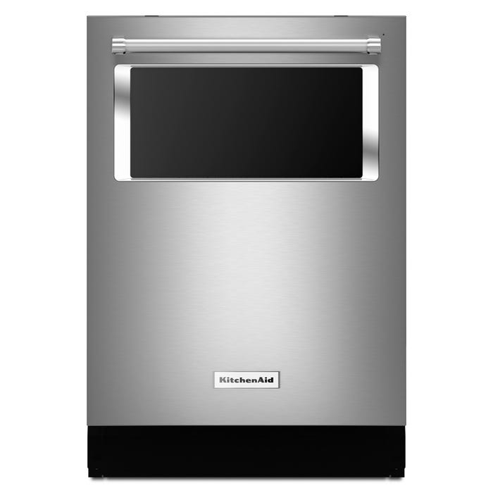 KitchenAid 24 inch Tall Tub Dishwasher in Stainless KDTM384ESS