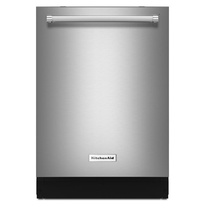 KitchenAid 24 inch 39 dBA tall tub dishwasher in stainless steel KDTE254ESS