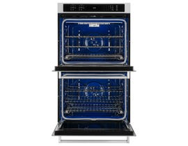 KitchenAid 30-inch 10.0 cu.ft. Double Wall Oven True Convection with Even Heat in stainless steel KODE500ESS