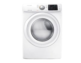 Samsung 7.5 cu. ft. Front Load Electric Dryer in White DV42H5000EW
