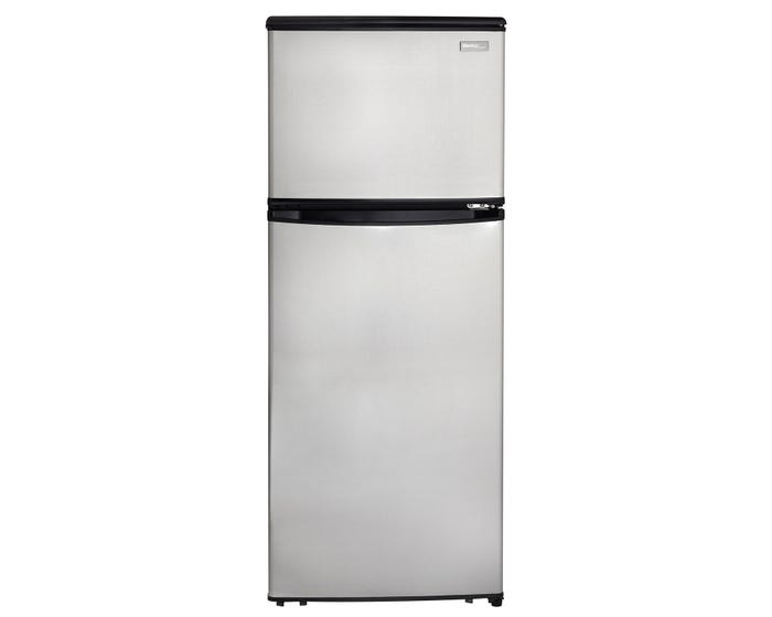 Danby Designer 23.94 inch 11 cu.ft. Apartment Size Refrigerator in  Stainless Steel DFF110A1BSSD