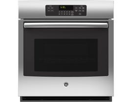GE 27 inch 4.3 cu.ft. Self Clean Single Electric Wall Oven in Staineless Steel JCK3000SFSS