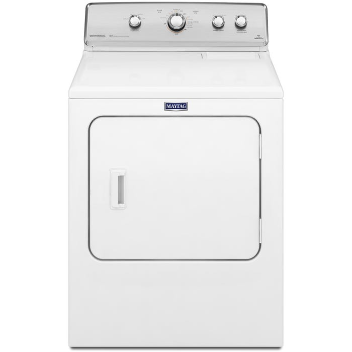 Maytag Centennial 7.0 cu.ft. Dryer in White YMEDC555DW