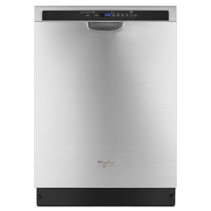 Whirlpool 24 Inch Dishwasher in Stainless Steel WDF560SAFM
