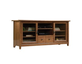 Everik Credenza wood 55-inch TV Stand in Auburn Cherry brown 418978