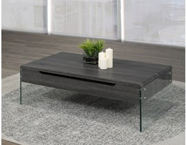 Brassex Coffee Table w/Lift Top & Storage 870-02