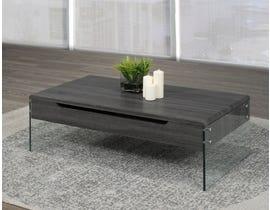 Brassex Coffee Table w/Lift Top & Storage 870-02