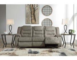 Signature Design by Ashley McCabe Series Reclining Sofa in Cobblestone 1010488