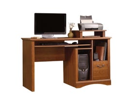 Sauder Camden County Collection Computer Desk in Planked Cherry 101730