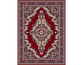 Midas 5X8 Area Rug in Red/ Blue 1020-X0122