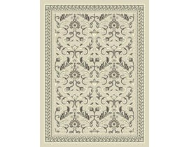 Midas 5X8 Area Rug in Grey/L. Grey 1023-N144