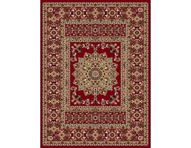 Midas 5X8 Area Rug in Red / Beige 1024-RO355