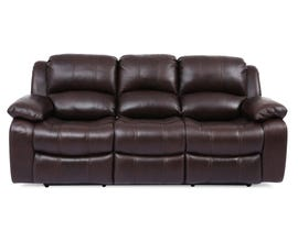 Amalfi Dual Leather Power Reclining Sofa in Brown 8251