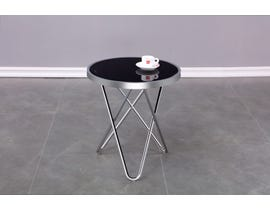 Brassex Caden Accent Table in Chrome 103-CR