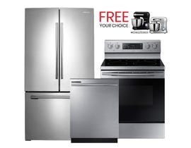 Samsung 3pc Appliances Bundle in Stainless 123903/105314/105316
