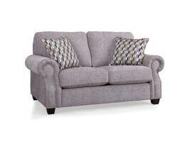 Decor-Rest Rico Fabric Loveseat in Grey 2279