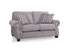 Decor-Rest Rico Fabric Loveseat in Grey 2279