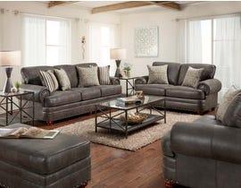 Washington Marco Series 3pc Sofa Set in Chocolate 1055