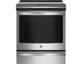 GE Profile 30 inch 5.3 cu. ft. Slide-In Induction Range in Stainless Steel PCHS920YMFS