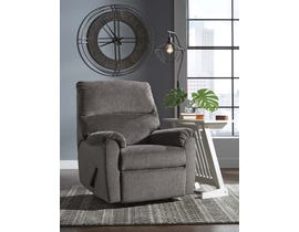 Signature Design by Ashley Recliner in Gray 1080329C