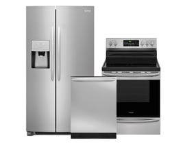 Frigidaire Gallery 3-Pc Appliance Package in Stainless 108084/089137/108651