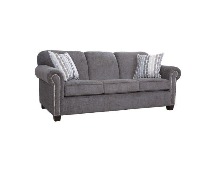 Astounding Decor Rest Barbara Collection Fabric Sofa In Graphite Grey 2756 Machost Co Dining Chair Design Ideas Machostcouk