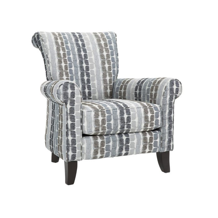 Remarkable Decor Rest Barbara Collection Fabric Accent Chair In Pebblestone Pattern Grey 2756 Download Free Architecture Designs Philgrimeyleaguecom