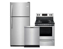 Frigidaire 3-Pc Appliance Package in Stainless 108783/115281/122193
