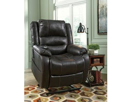 Signature Design by Ashley Power leather look Lift Recliner Yandel in black 1090112