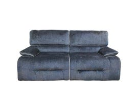 Cosmo Furniture Fabric Sofa in Dark Blue M009