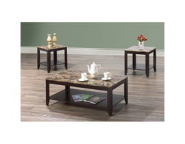 International Furniture Faux Marble 3-piece coffee set  IF-3218