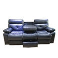 Primo International Jett Motion Sofa with Drop down Tray in Slate